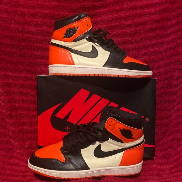 Jordan 1 Shattered BB(Painted with Shoe Paint)
